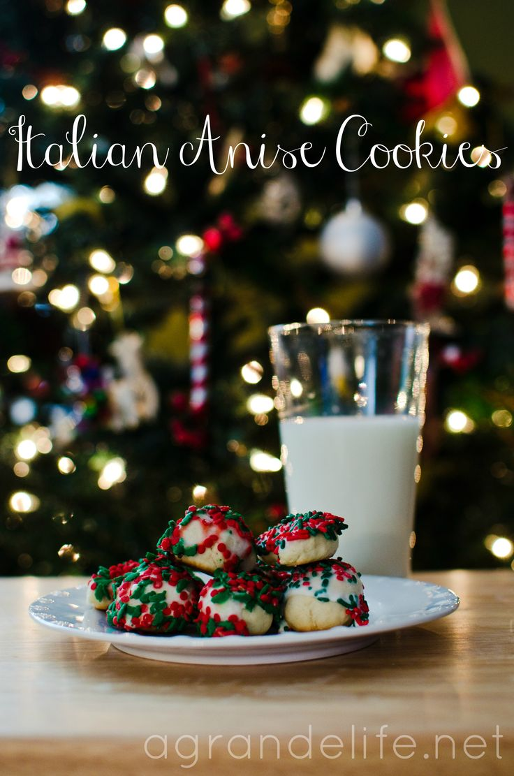 Italian Anise Cookies {Lehigh Valley Dairy's Most Dunkable Cookie Contest Recipe and Giveaway}