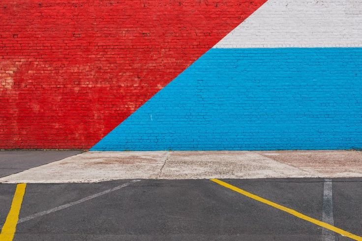 Red Blue Yellow Grey White | Photograph by Duncan Innes