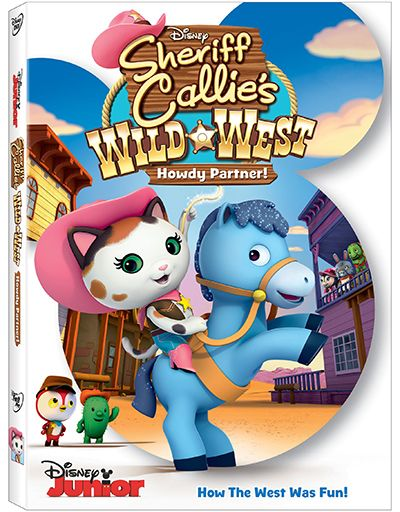 SHERIFF CALLIE'S WILD WEST: HOWDY PARTNER Yippee Ki Yay! Get ready for Disney Western Magic with Sheriff Callie and her friends in SHERIFF CALLIE'S WILD WEST: HOWDY PARTNER on DVD October 13th! Filled with 5 action-packed episodes and a FREE exclusive pop-up play set packed inside, bring home the first Western for preschoolers ! Starring... [Continue Reading...]