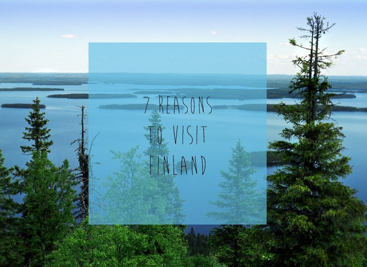 LITTLE THINGS WITH JASSY: 7 REASONS TO VISIT FINLAND