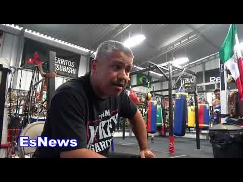 Robert Garcia On Working As A Cutman And Taking Tanajara Navaro From 0 To 15 EsNews Boxing Allthebelts