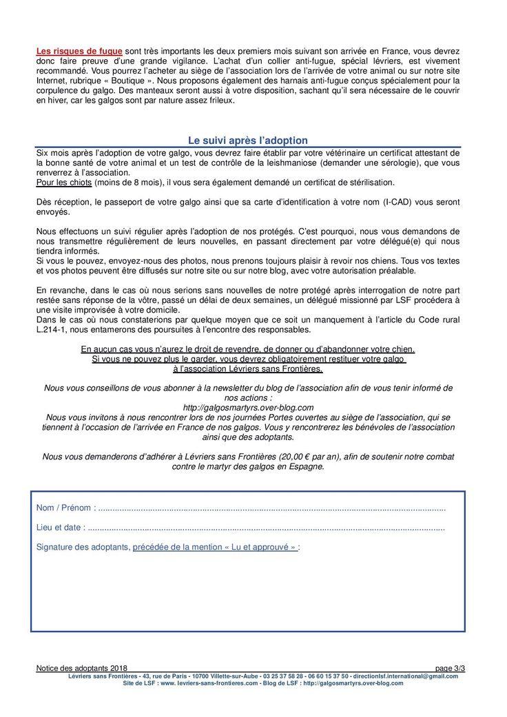 Notice Lire Et Imprimer Des Adoptants