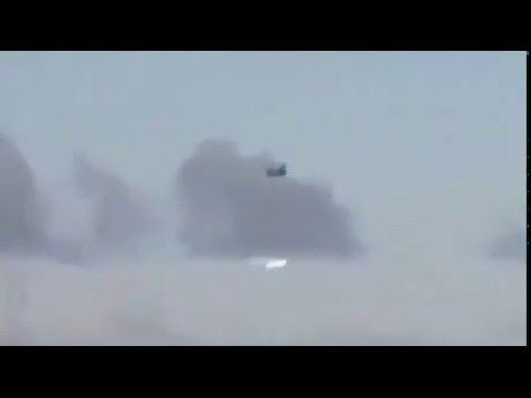 Shock-Real Ufo Attack Helicopter in Syria