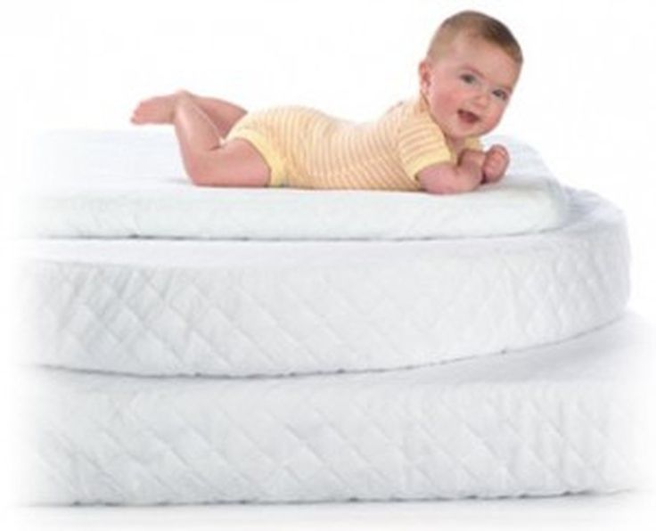 Baby Crib Mattress Drifting Off To Dreamland On A Carefully Selected