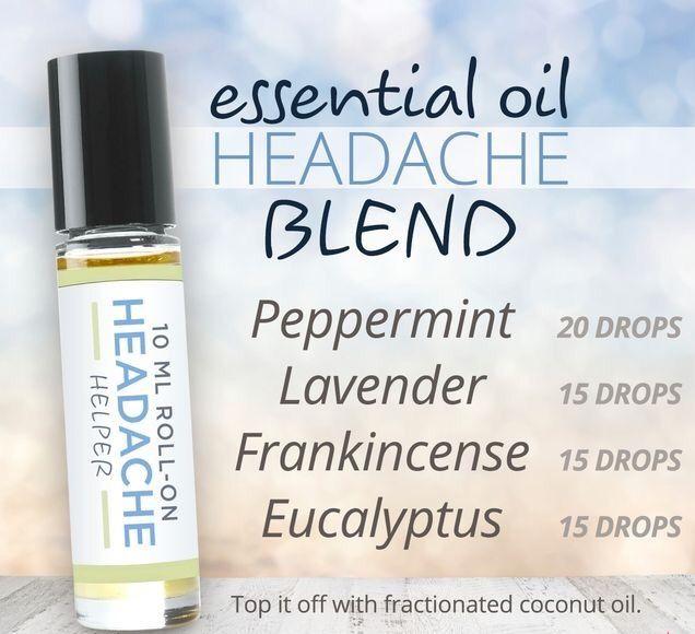 essential oil headache blend