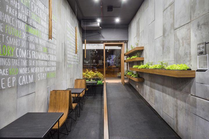 Колоритное оформление ресторана Aja от студии Arch.Lab