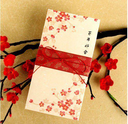 flor de cerezo sobre de invitacion - Buscar con Google