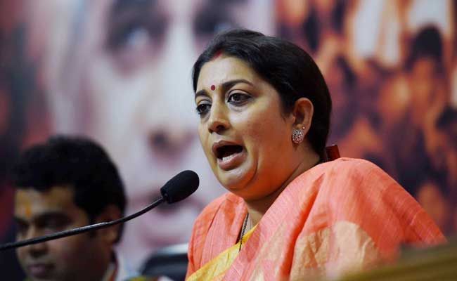 Smriti Irani's Dig at Sharad Yadav: Imagine if He Had Drafted Constitution