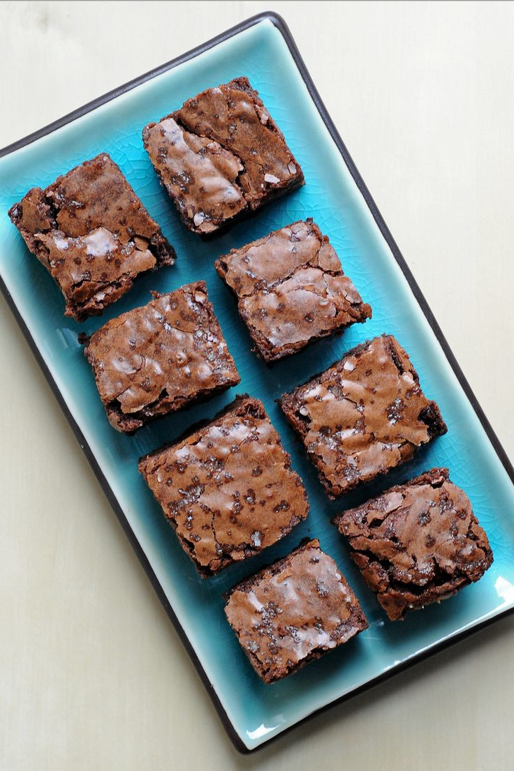 The Richest, Fudgiest Salted Brownies You'll Ever Try