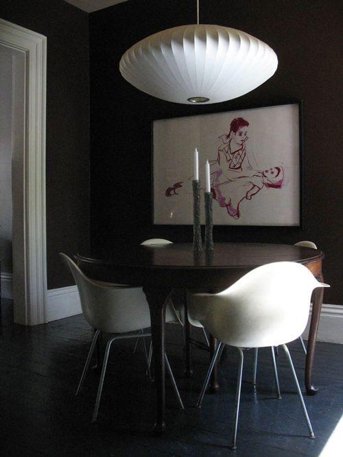 via designsponge | George Nelson Saucer lamp | http://modernica.net/saucer-lamp.html
