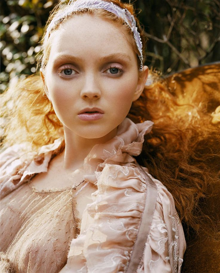 Morning Beauty | Lily Cole by Carter Smith