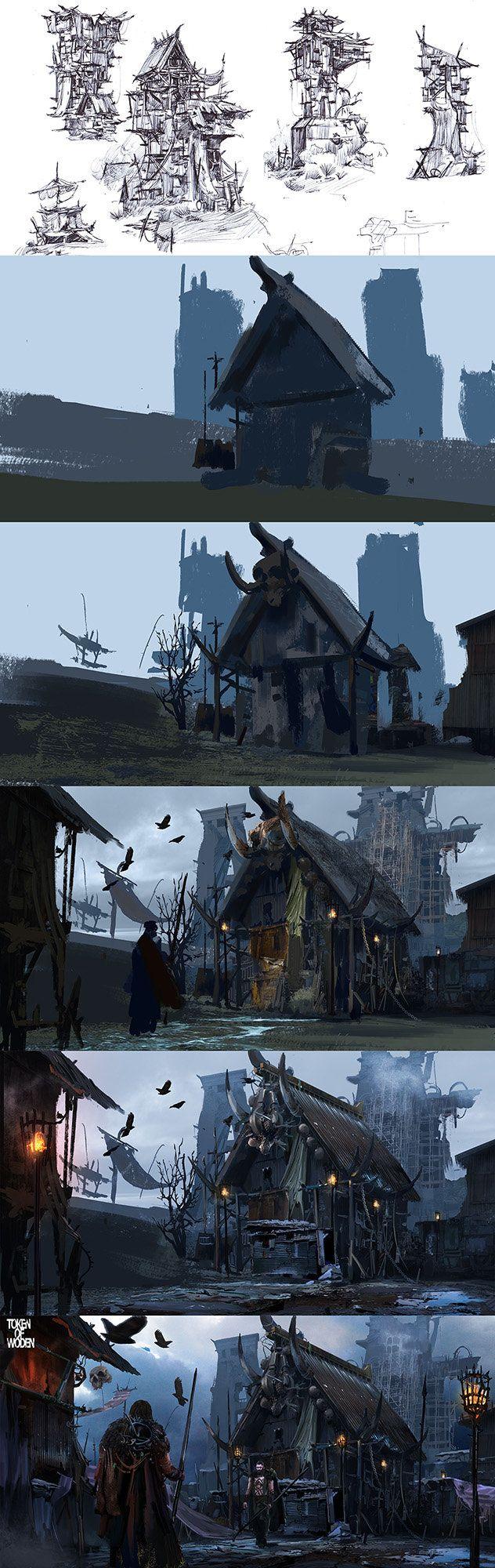 Token of Woden Concept_by Kunrong Yap_from ArtStation (https://www.artstation.com/artist/krypt)