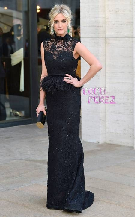 Ashlee Simpson looks amazing at the American Ballet Theatre's Opening Night Spring Gala in NYC.