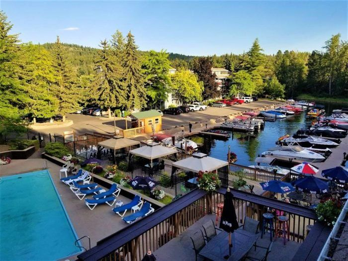 7 Restaurants In Montana With The Most Amazing Dockside Dining Outdoor Tiki Bar Montana Best Craft Beers