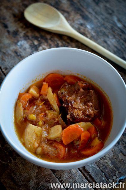Mijoté de boeuf, panais et carottes - Recette - Marcia 'Tack