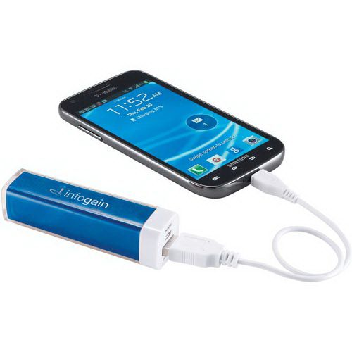 This battery backup will keep your smartphone charged up when needed.With a 2,200 mAh Li-Ion Grade A battery and a 5V/1A output this charger will fully charge an iPhone giving you an additional 8 hours of talk time. Includes a USB to Micro USB connecting cable which can recharge the battery backup or be used to charge up devices with a Micro USB input like Android Smartphones from Samsung, Motorola, HTC, Nokia, and others.