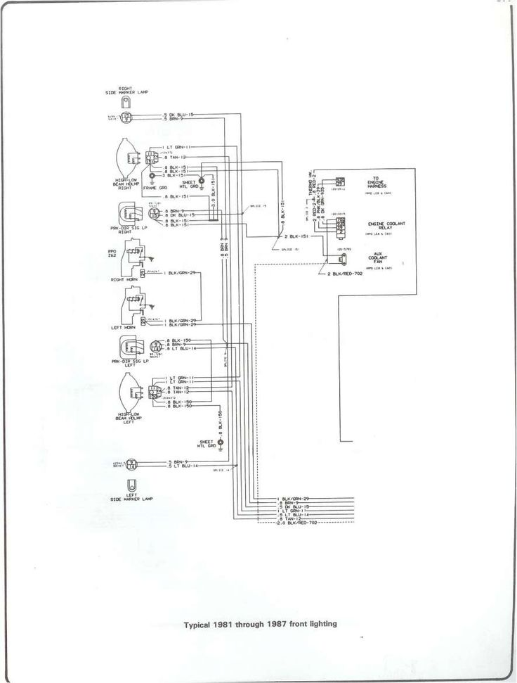 16 1984 Chevy Truck Headlight Wiring Diagram Truck Diagram Wiringg Net Chevy Trucks 1984 Chevy Truck Chevy Trucks Older