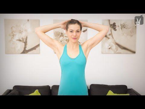Pilates Workout für Schulter und Nacken: Hilfe bei Verspannungen! - YouTube