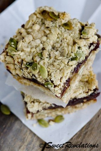 Coffee Shop Worthy Date Squares - Sweet Revelations