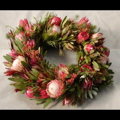 Native Australian Christmas Wreath. Gorgeous ♥♥