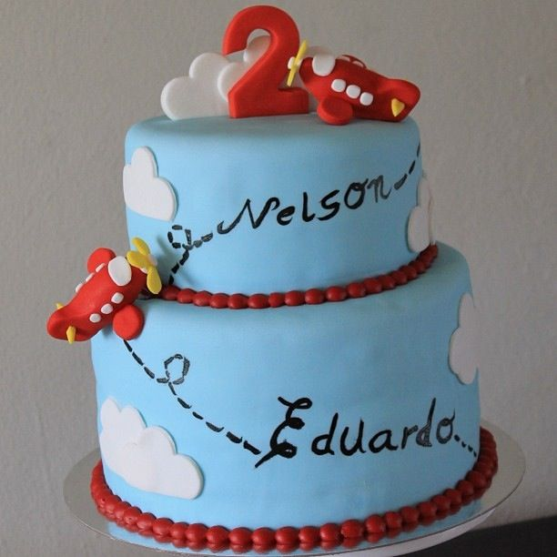 Airplane cake- by Sarandonga's Bakery