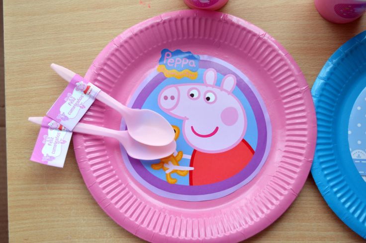 plato peppa pig  #peppapig #cumpleaños #party #birthday #fiesta #cotillon