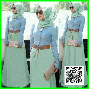 hijab bella denim MTFM24