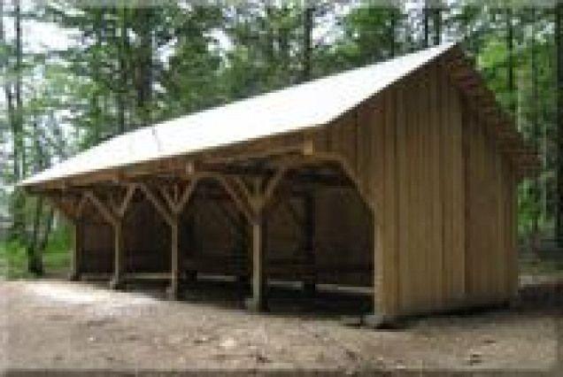 Timber Frame Tractor Shed Farm Shed Shed Carport Sheds
