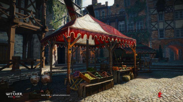 ArtStation - The Witcher 3: Wild Hunt, javier pintor