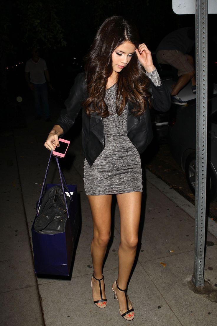 Selena scott upskirt