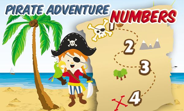 Game Pirate Adventure - Numbers