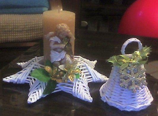 Vianoce - Papierové pletenie
