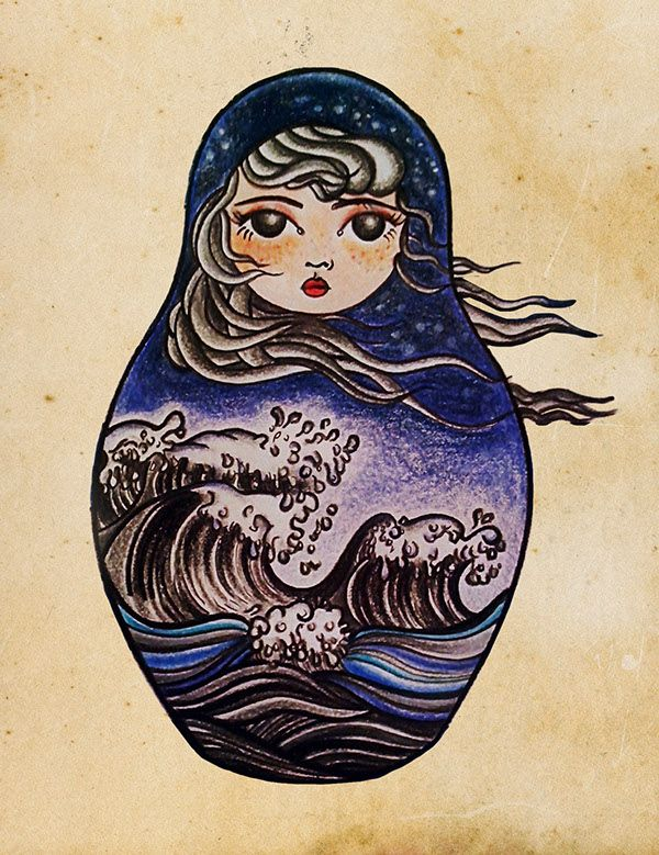 Sea Matryoshka on Behance