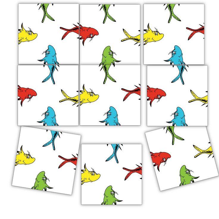 Crazy fish puzzle very easy level retro tile game 9
