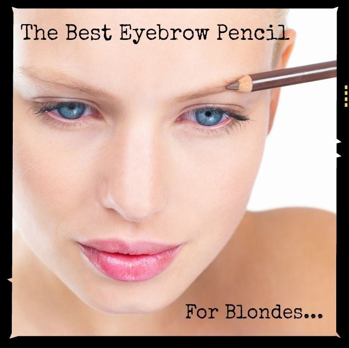What Color Eyebrow Pencil For Blonde Hair Best Image Of Blonde