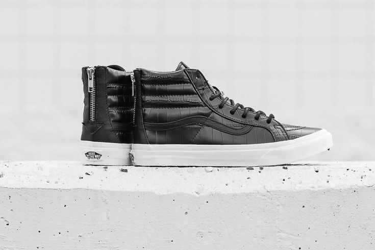 """Vans 2015 Fall """"Croc Leather"""" Pack"""