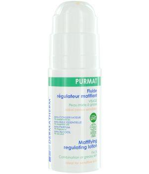 Dermatherm Purmat Fluide régulateur matifiant Visage 50ml. 13,20€