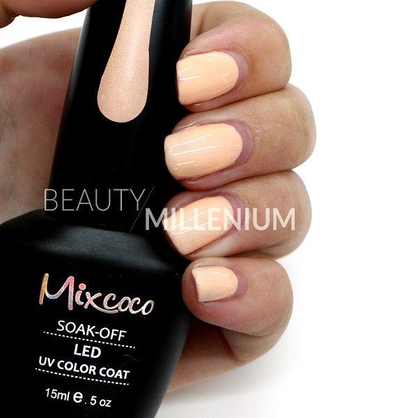 #Mixcoco #gellak #024 'Delicate Pastel' verkrijgbaar via www.beautymillenium.nl - prijs €14,95 ✨ minimaal 2 weken lang prachtig gelakte #nagels met #MixcocoGellak #nails #gelnails #manicure #gelmanicure #nailart #gellish #gellac #gelish #gelnagellak #mani #nailartclub #beauty #nailpolish #cherryrednails #rednails