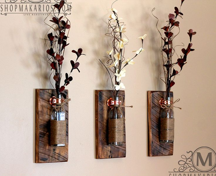 Diy Rustic Wall Sconces : Best 25+ Wall sconces ideas on Pinterest Diy house decor, House decorations and Glow mason jars
