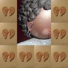 Resultado de imagen de patrones de orejas para fofuchas
