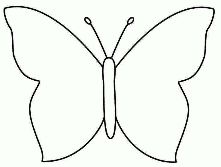 M s de 25 ideas incre bles sobre mariposas para colorear - Plantillas de mariposas para pintar ...