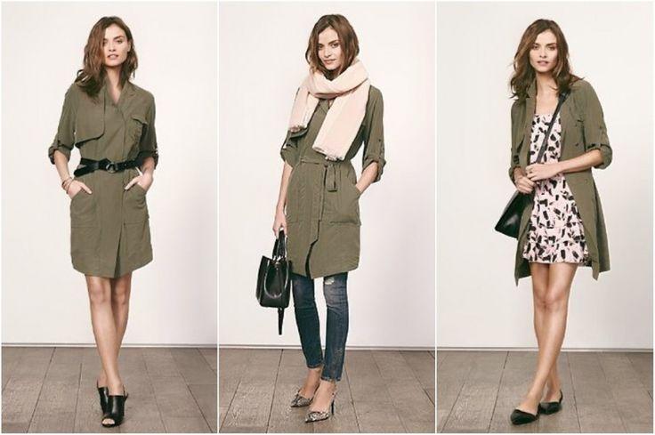 Берем пока дают! Почему я считаю платья-тренчи хорошим вкладом в гардероб - 7 одежек. Свой гардероб – свои правила