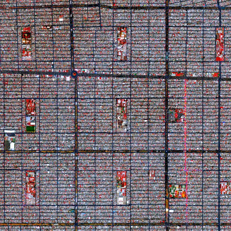 7/12/2015 Ciudad Nezahualcóyotl Mexico City, Mexico 19°24′00″N 98°59′20″W  This Overview captures the tightly gridded streets of Nezahualcóyotl, a municipality of Mexico City. With a population of more than one million (all of Mexico City contains approximately nine million), the area is home to many of the capital's citizens who have migrated there from other parts of the country.
