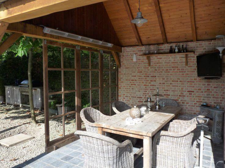 Overdekt terras thebault pinterest house for Overdekt terras