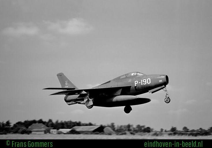 Thunderstreak P190 op Welschap.