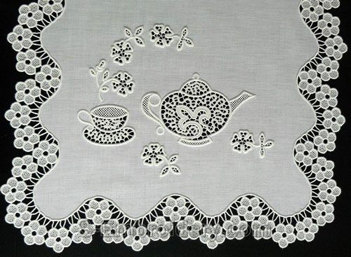 Cutwork and cutwork lace are two terms that are often interchanged but are actually quite different. While cutwork produces open cut-away areas in fabric, cutwork lace adds intricate connective embroidery much like freestanding lace. Combining the two is a match made in machine embroidery heaven.