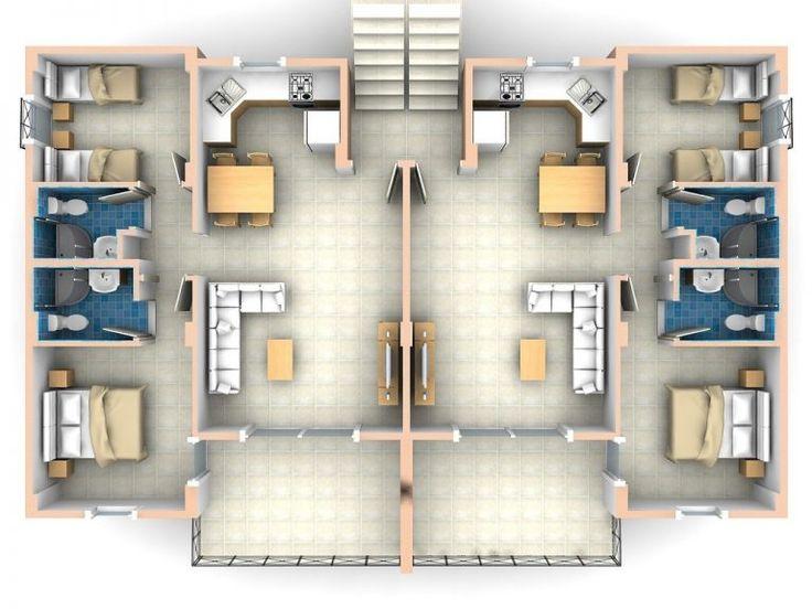 Elegant 2 Bedroom Apartments 2 Bedroom Flat Plan Drawing Pertaining To Two Bedroom Apartmen Small Apartment Plans 2 Bedroom Apartment Floor Plan Apartment Room