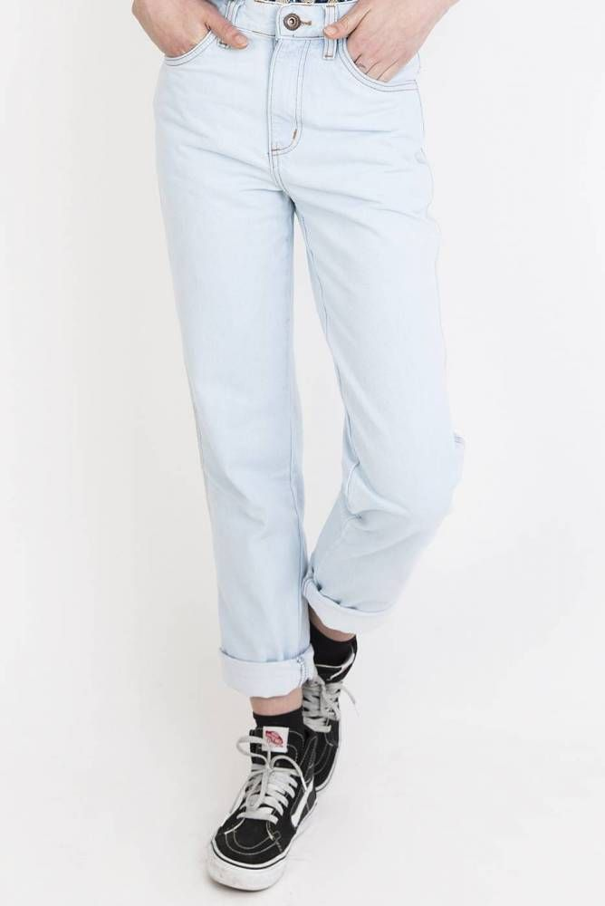 Jeans Mom Cintura Alta NA8976