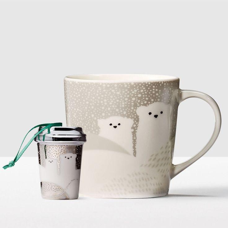 Polar Bear Gift Set. A mug that keeps the holiday spirit alive all year long.