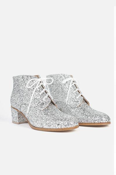 Combo Fashion Game: giacca smoking + scarpe glitter